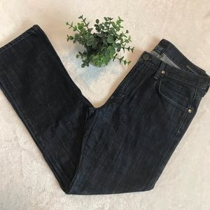 Citizens of Humanity SID tailored denim dark wash jeans ziss 32